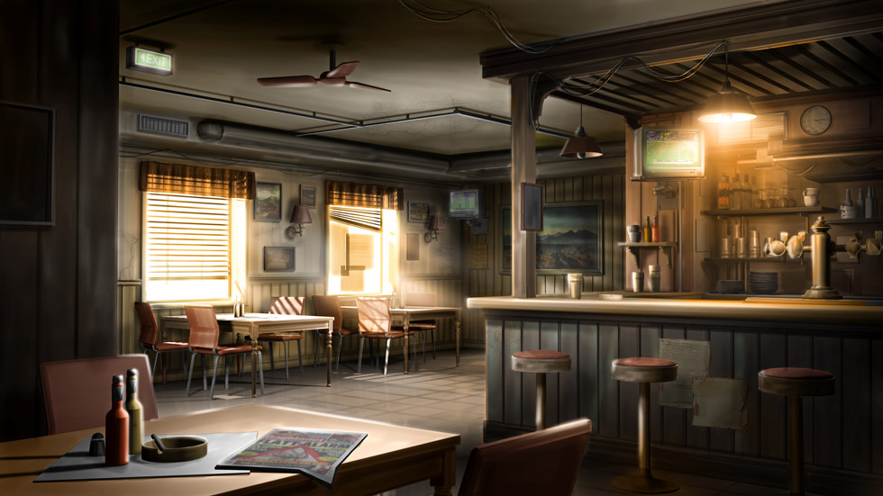 Concept visual / The Bar - A Norwegian diner