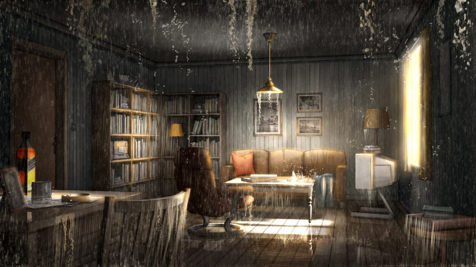 Concept visual / Robert's flooded apartment