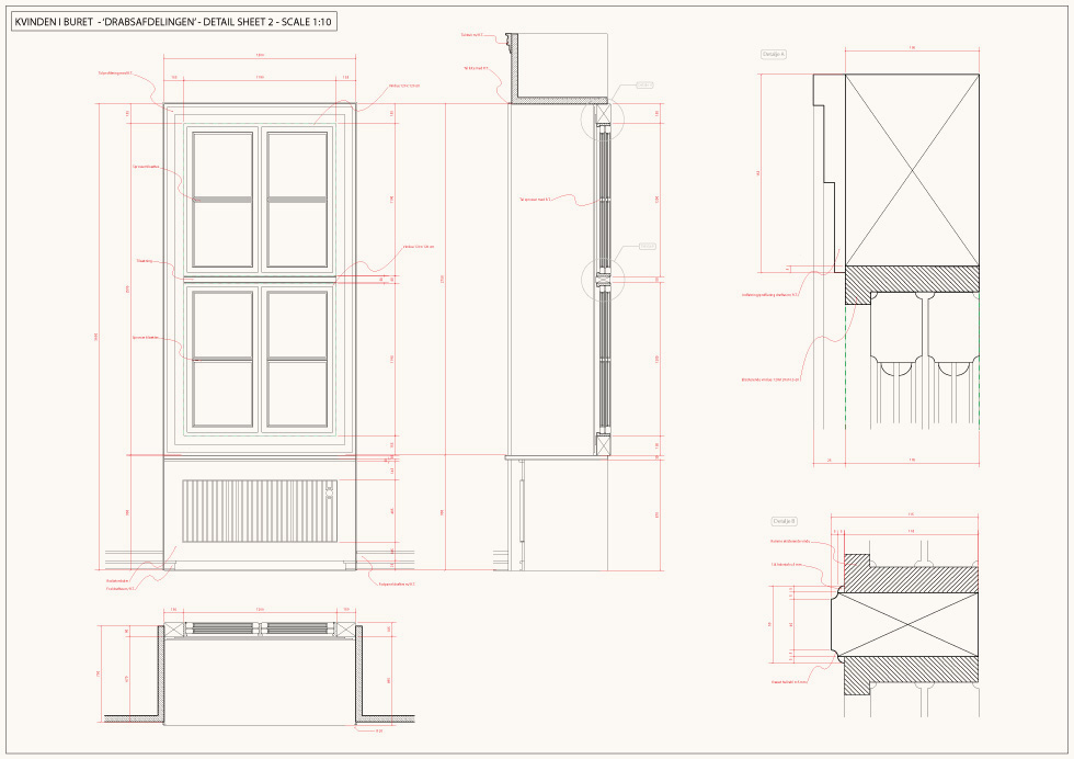 CAD-drafting / Detail / The Homicide Department