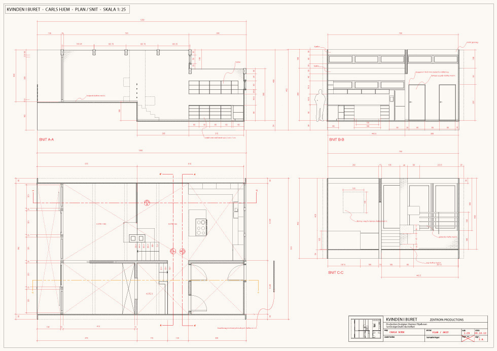 CAD-drafting / Carl's home
