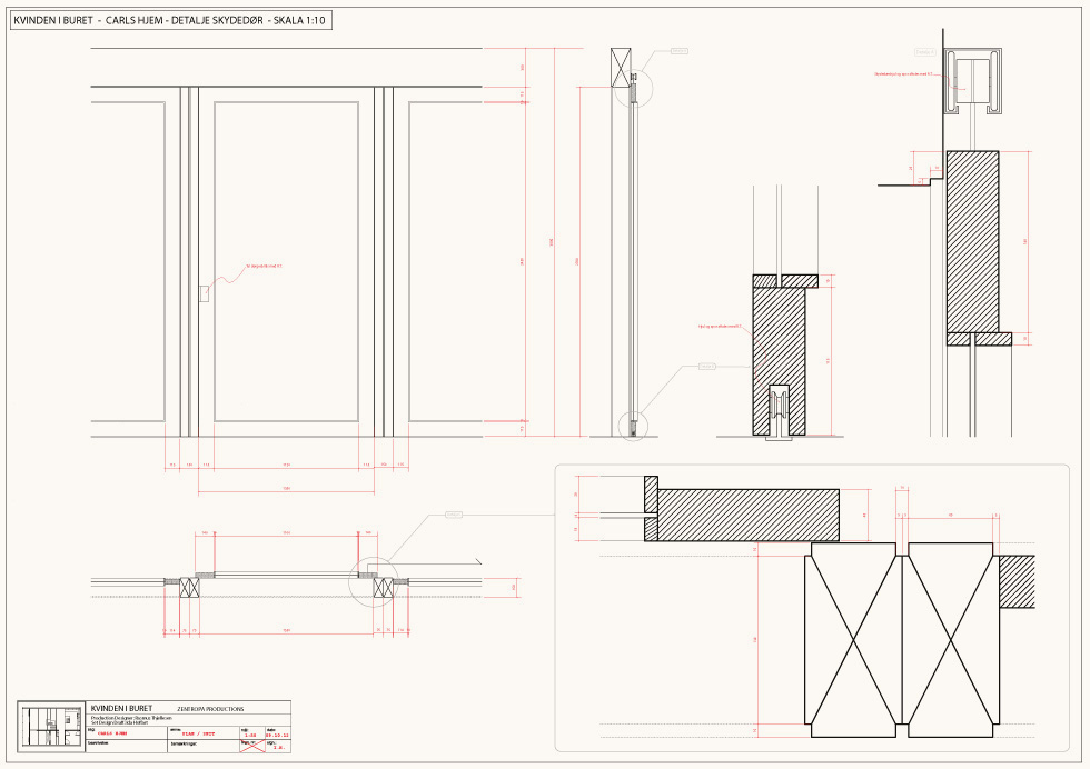 CAD-drafting / Detail / Carl's home